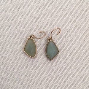 Chloe + Isabel Gilded Reeds Adventurine Earrings